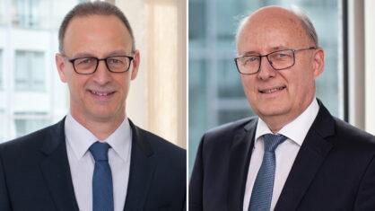 DEGES-Geschäftsführer: Dirk Brandenburger und Wolf-Dieter Friedrich