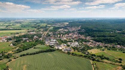 In Bad Freienwalde wird eine neue Ortsumgehung geplant. | Bildnachweis: [Link:http://www.gnu.org/licenses/old-licenses/fdl-1.2.html]