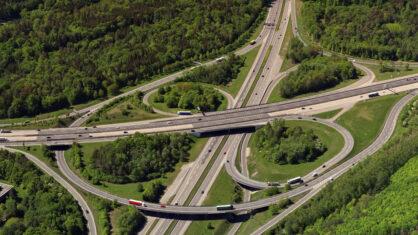 Autobahnkreuz Stuttgart