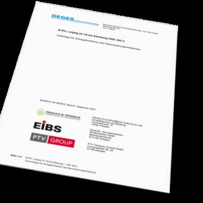 Tischvorlage - Dokument mit DEGES-Logo