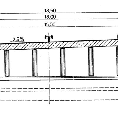 Varreler Bäke - Querschnitt Bestandsbauwerk