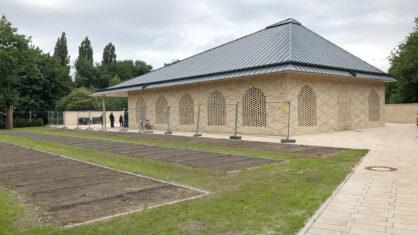 Das Wasch- und Gebetshaus auf dem Friedhof Finkenriek