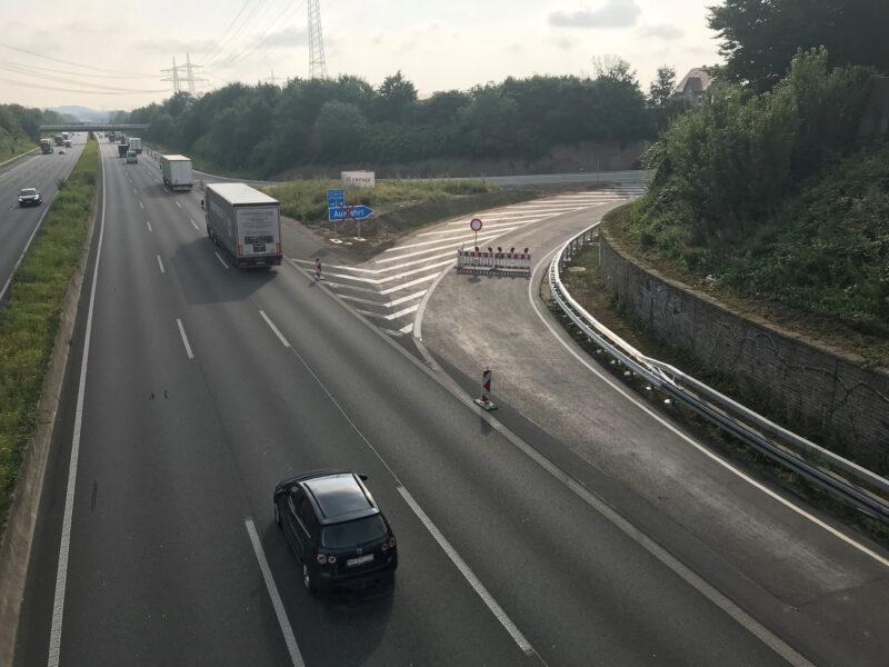 Die A 1- Rampe Süd in Fahrtrichtung Bremen wird Anfang August wieder für den Verkehr freigegeben.