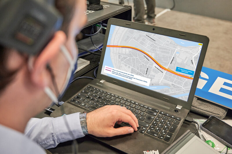 Bei den digitalen Bürgersprechstunden ist auch der gemeinsame Blick in aktuelle Planungsunterlagen möglich