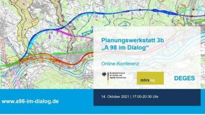 A 98 im Dialog - Planungswerkstatt 3b I Bildnachweis: DEGES